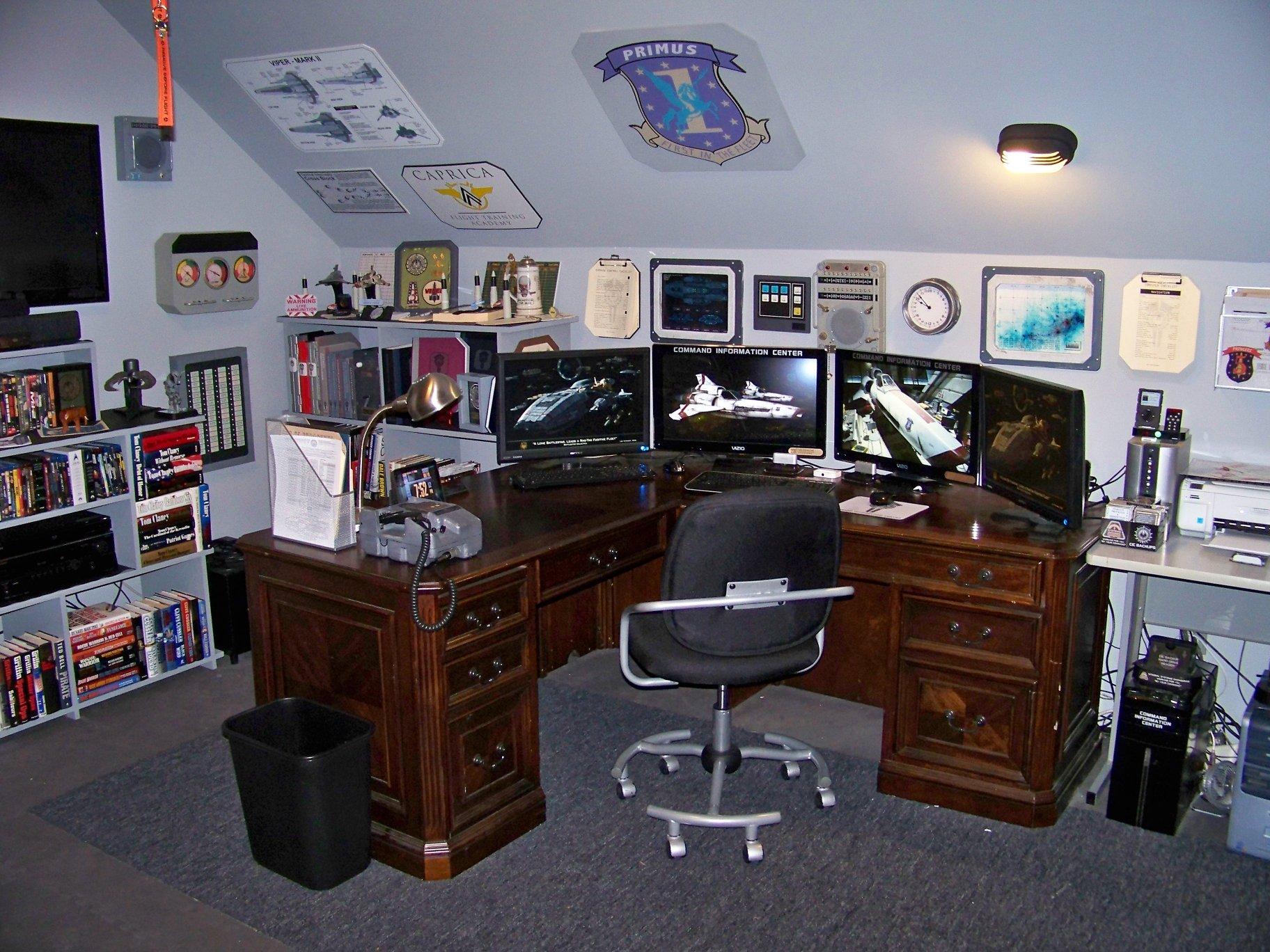 Man Cave Office Desk : Man cave desk hostgarcia